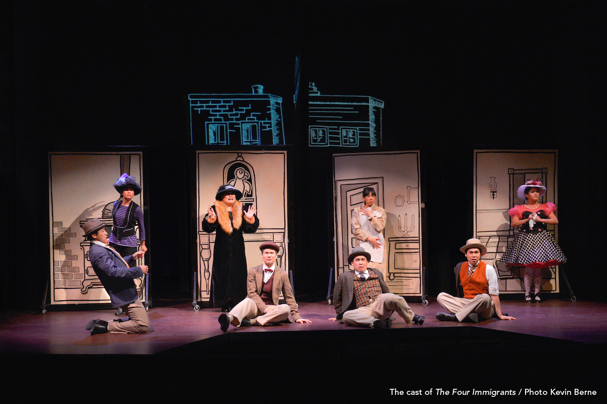 Image result for four immigrants manga TheatreWorks