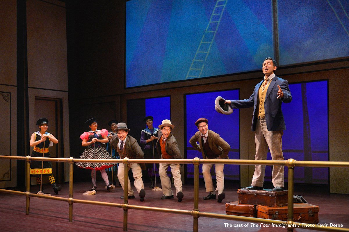 Image result for theatreworks four immigrants