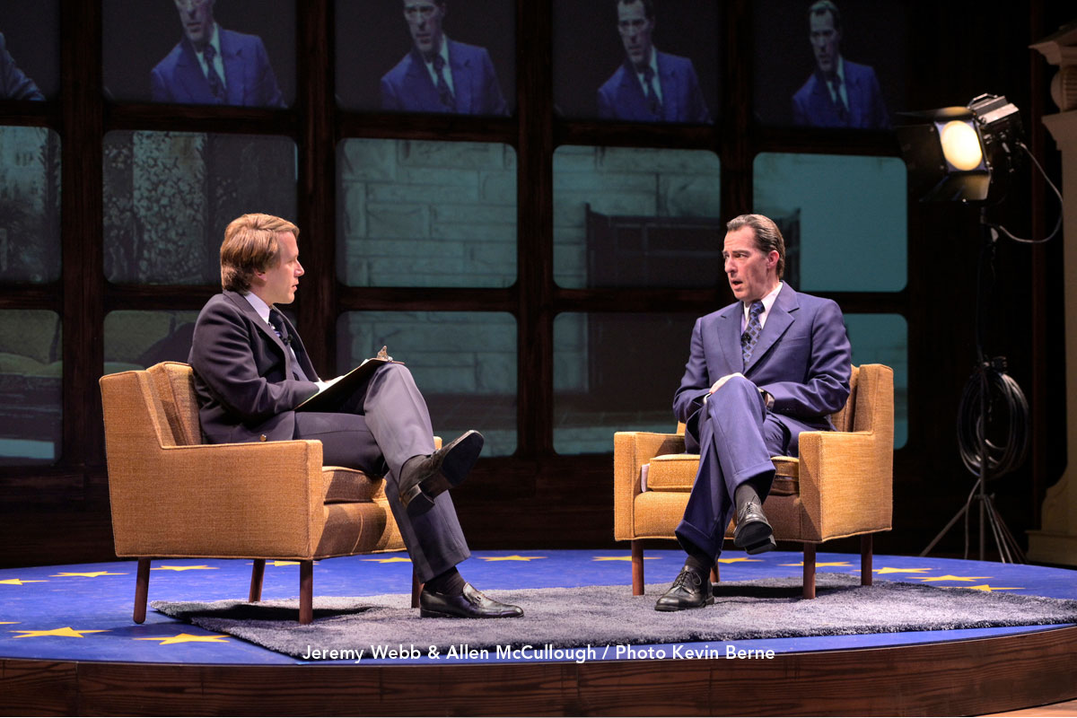 Image result for frost/nixon, theatreworks